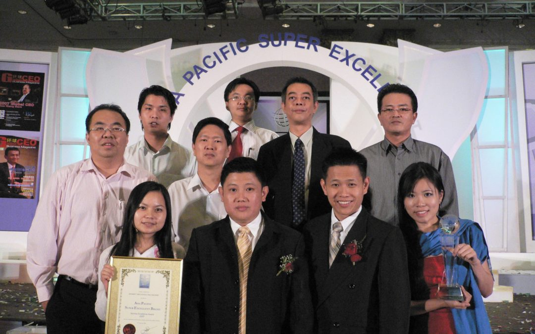 The 3rd Asia Pacific Super Excellent Brand Service Excellent Award 2007,  24.02.2008
