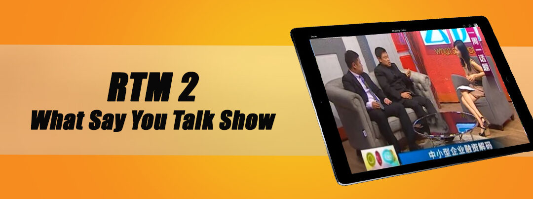 RTM2 What Say You Talk Show  07.05.2012