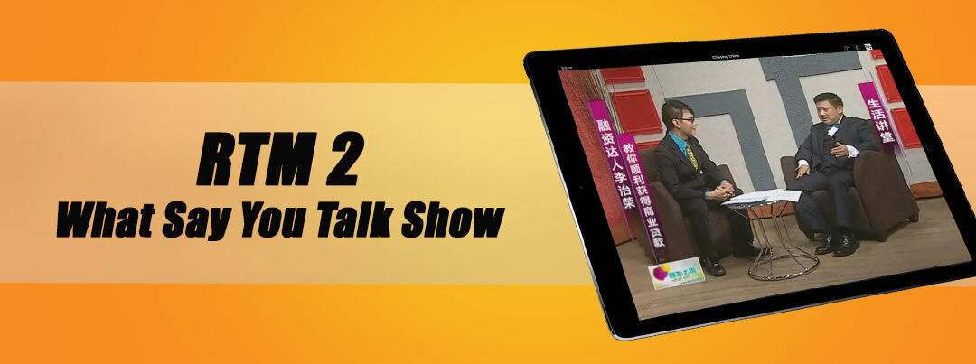 RTM2 What Say You Talk Show  14.10.2012