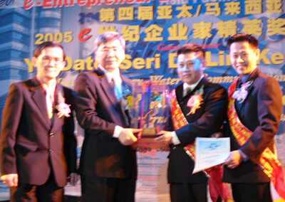 Asia Pacific Malaysia e-Entrepreneur Excellence Award