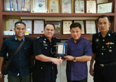 Police Station Seri Alam Football Campaign Sponsorship