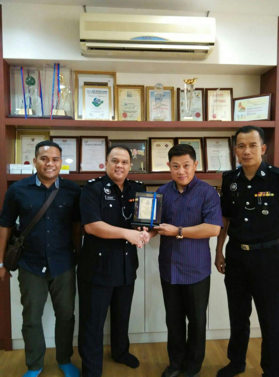 Police Station Seri Alam Football Campaign Sponsorship