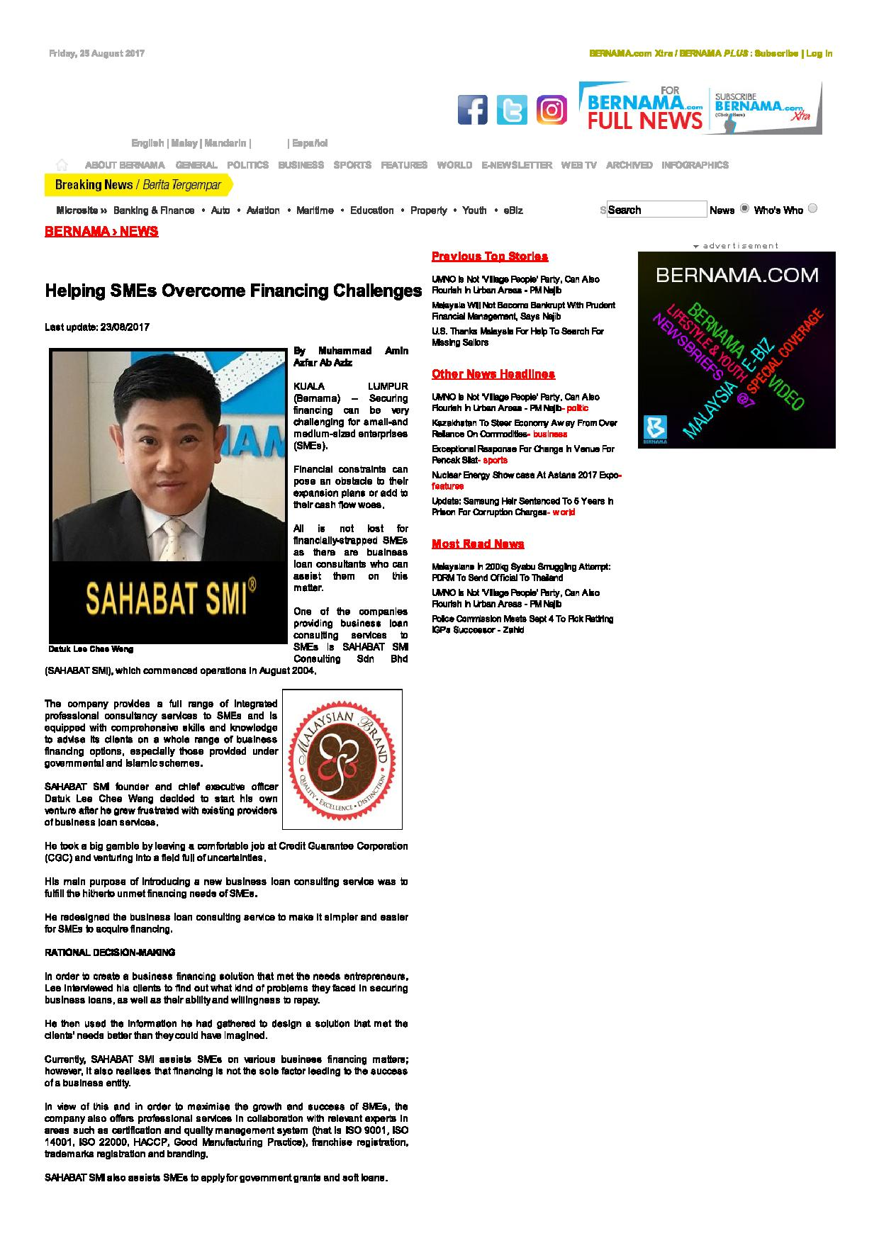 BERNAMA - Helping SMEs Overcome Financing Challenges-page-001