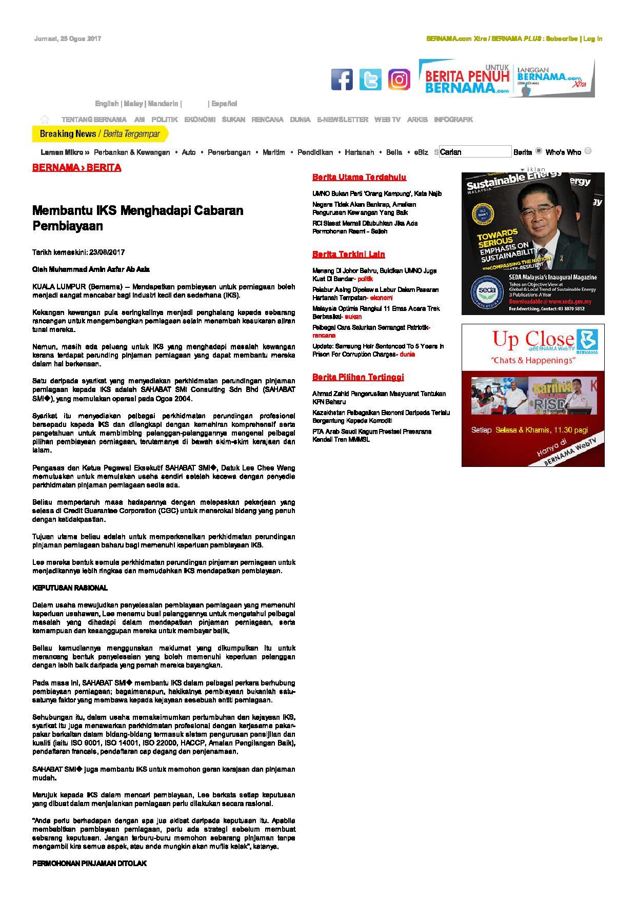 BERNAMA - Membantu IKS Menghadapi Cabaran Pembiayaan-page-001