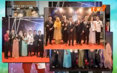 Lang International Corporate Titan Awards (Part 2) aired on RTM TV 2 《What Say You》13 January 2019