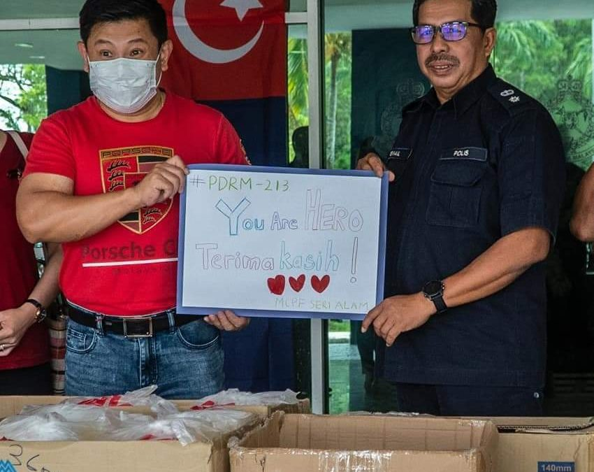 MCPF's Food Donation during MCO Covid-19